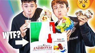 Wir testen italienisches Essen ausm Supermarkt | mit CrispyRob