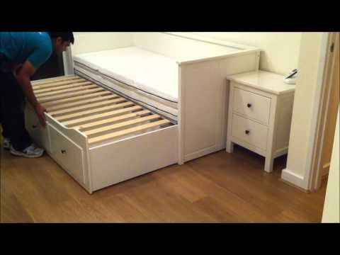 Ikea Hemnes Day-bed Trundle Guest Bed, Stolmen Storage