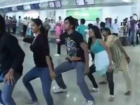 Amazing dance on Passengers day @ Mumbai Airport.