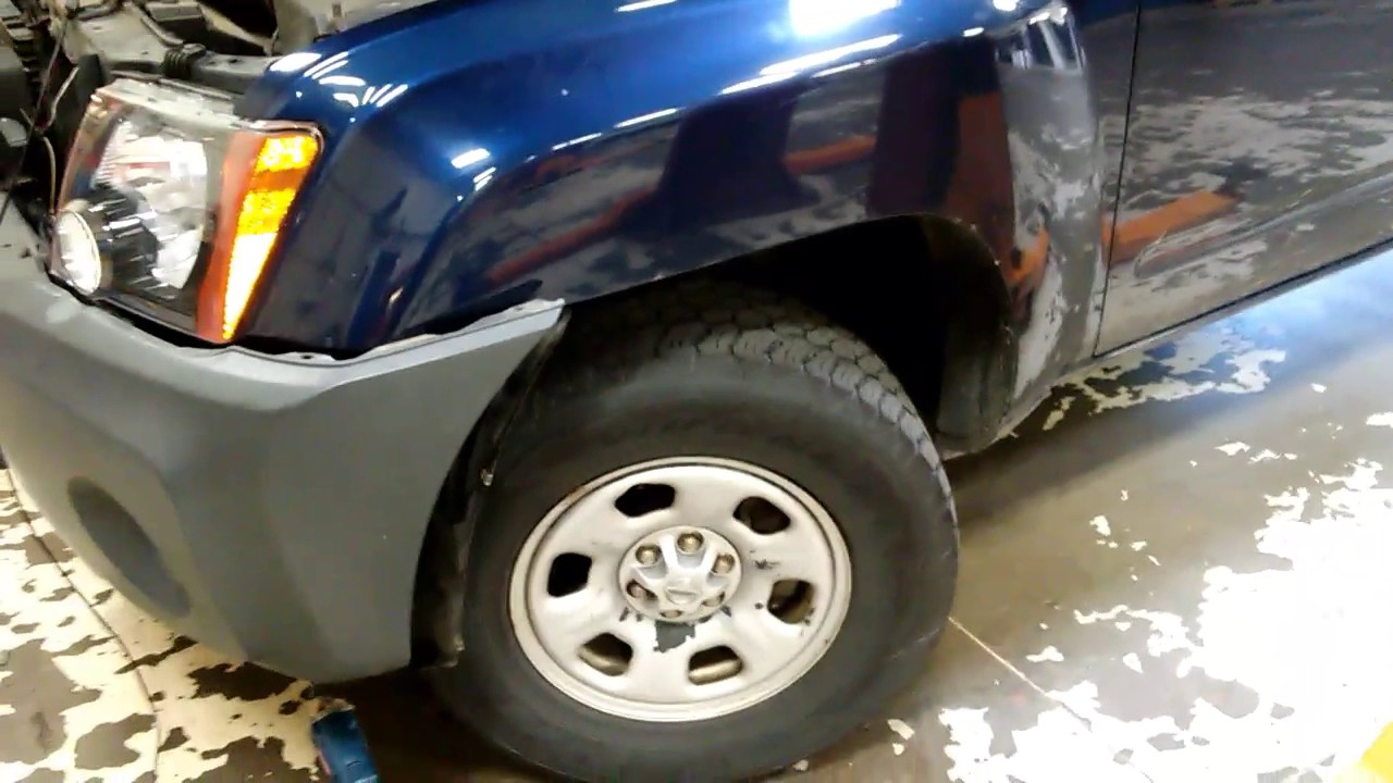 Nissan Xterra Headlight Removal And Replacement