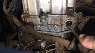 Моргает, загорается лампа давления масла на прогретом двигателе до 90градусов,одна из причин на 16кл