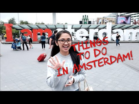 5 Things To Do In Amsterdam (Bahasa Indonesia)