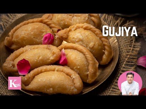 Gujjia | Kunal Kapur Recipes | Diwali Recipes