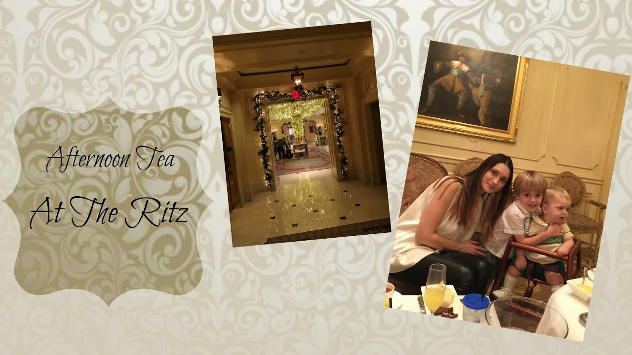 Christmas Afternoon Tea at The Ritz - YouTube