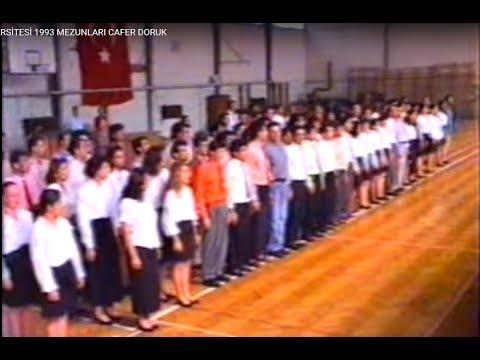MARMARA ÜNİVERSİTESİ 1993 MEZUNLARI CAFER DORUK