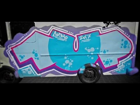 [KINGSPRAY] - VR Virtual Reality Graffiti Simulator | 1UP COSMO #002