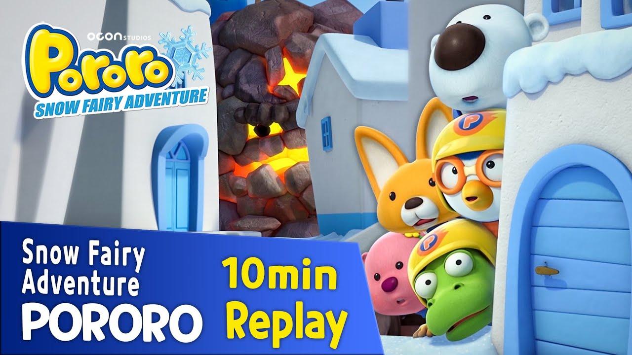 [Pororo Snow Fairy Adventure] 10min Replay   movie clip   episode   crong