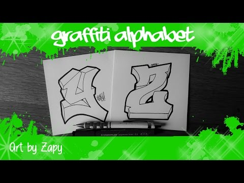 letter art alphabet graffiti alphabet for beginners how to draw letters y amp z 15535 | hqdefault