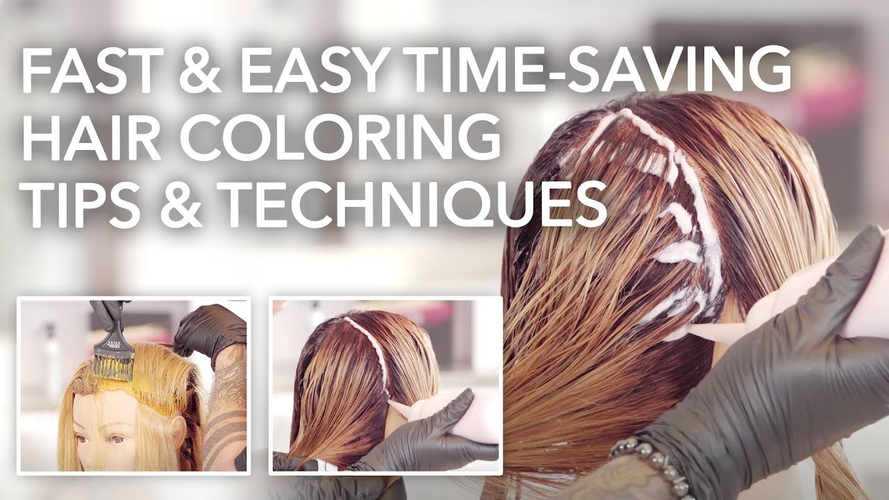 Fast & Easy Time-Saving Hair Coloring Tips & Techniques | Kenra Color