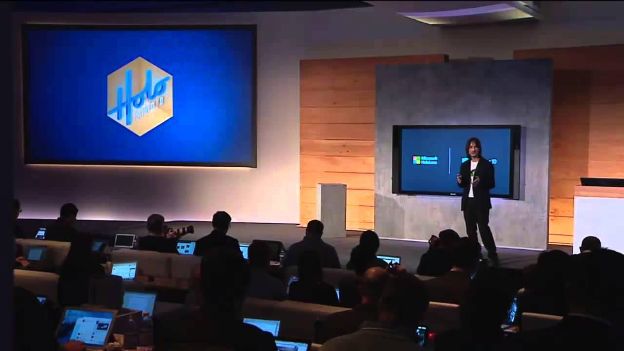 windows hololens full presentation youtube