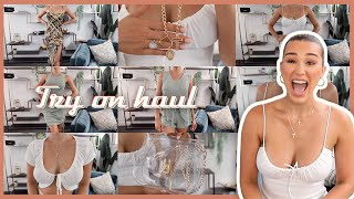Summer Try On Clothing Haul - PRINCESS POLLY