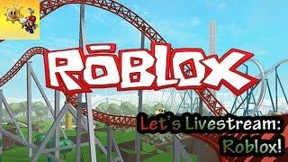 LIVESTREAM - Roblox, Minecraft, Clustertruck
