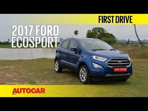 2017 Ford EcoSport Petrol   First Drive   Autocar India