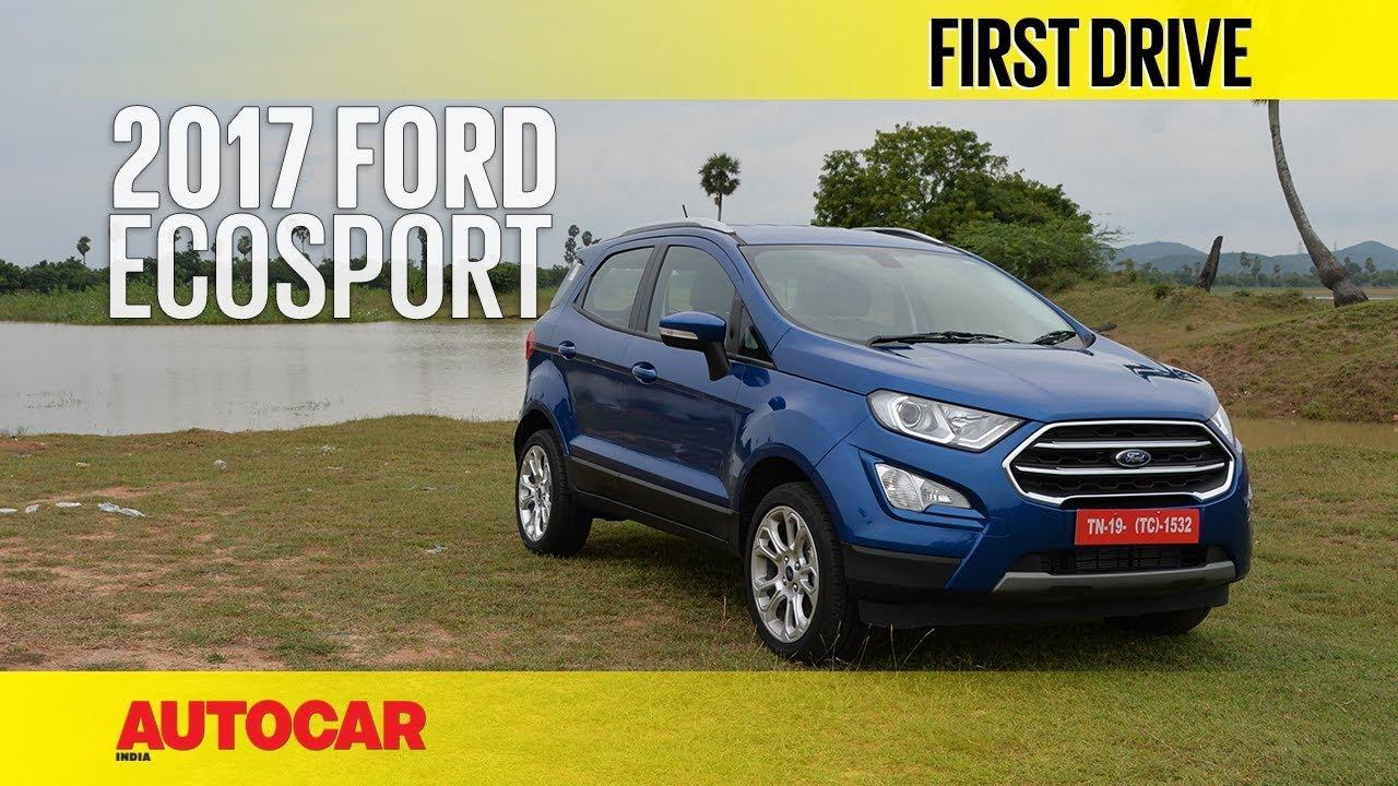 Ford Ecosport Petrol First Drive Autocar India