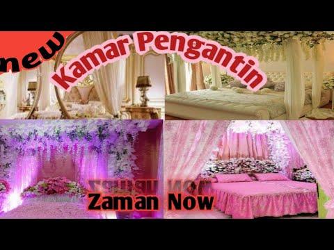 dekorasi kamar pengantin 2019 - youtube