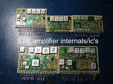 Stk Amplifier Internalss Ic S