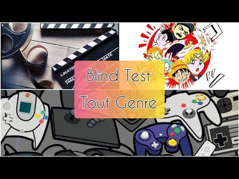 Blind Test (Films, Déssins Animés, Séries Tv, Mangas,Jeux vidéo)