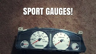 Here Is How To Install Sport Face Gauges On A Infiniti G20