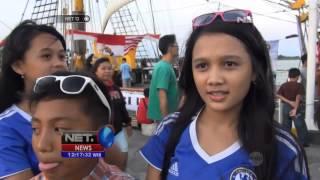 NET12 - Perjalanan KRI Dewa Ruci jadi magnet pariwisata di Bali