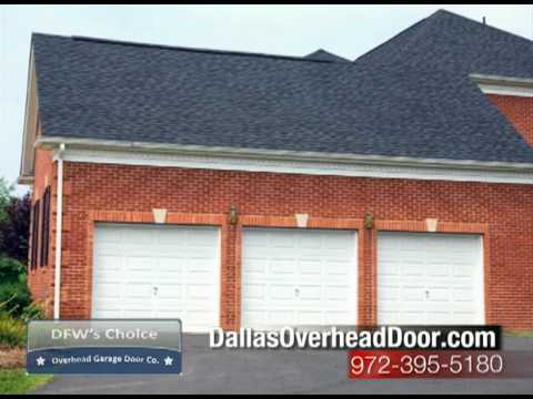 Dallas Overhead Garage Door Service and Repair Dallas Garage Doors  YouTube