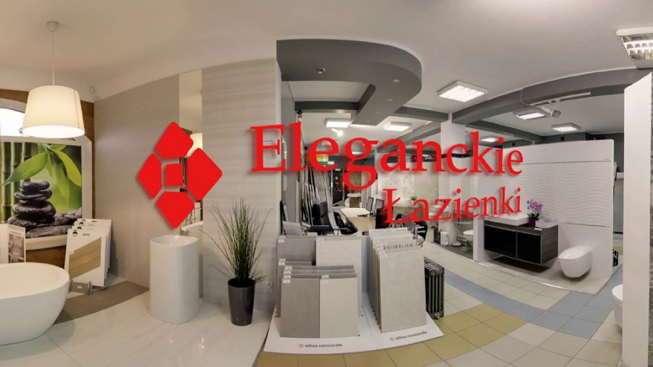 Eleganckie łazienki Kielce 360 Video Youtube