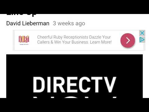 Direct Tv Now adding channels