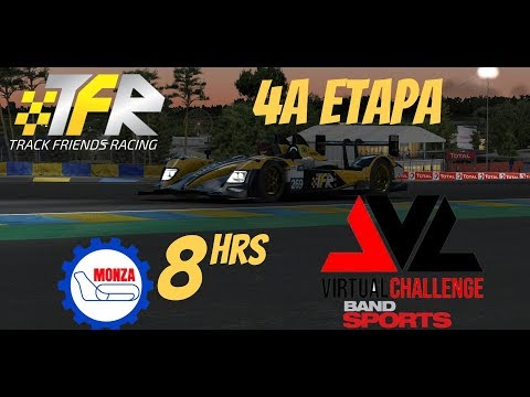 Band Sports Endurance Virtual Challenge | 4a Etapa - 8Hrs Monza | Track Friends Racing #269