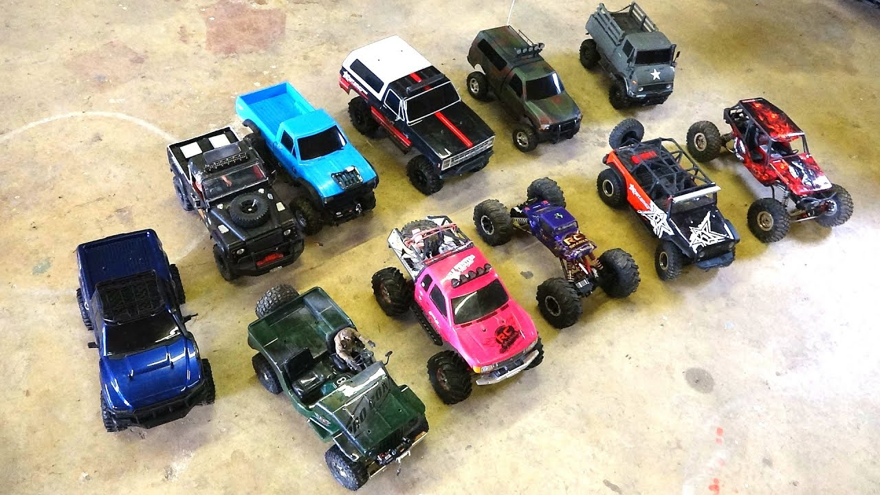 rc adventures 11 scale trail crawler comparisons g made axial rc4wd tamiya vaterra youtube. Black Bedroom Furniture Sets. Home Design Ideas