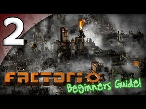 Factorio Beginner's Guide - 2. Steam Engines & Electricity - Let's Play Factorio Gameplay