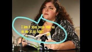 💬Fresno State profess-crap-Randa Jarrar @ MJC WARNING foul language