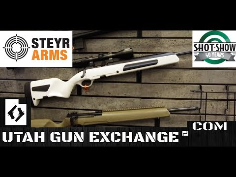SHOT Show - 2018 Steyr's NEW White Scout Rifle!!