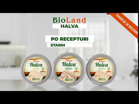BioLand Halva - Reklama