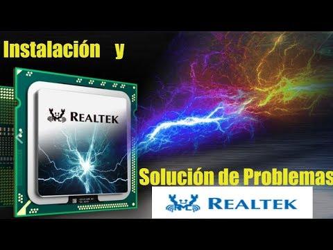Como Descargar, Instalar Y Resolver Problemas Con El Realtek High Definition Audio Windows 10