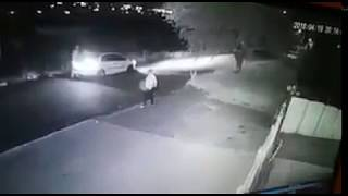 Owner rams thieves car and catches 2 [MUST WATCH]