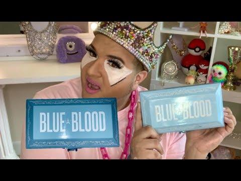 JEFFREE STAR BLUE BLOOD PALETTE REVIEW