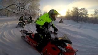 Бедярыш Школа горного вождения снегохода от экстрим клуба Ультиматум 3 группа декабрь 2015.