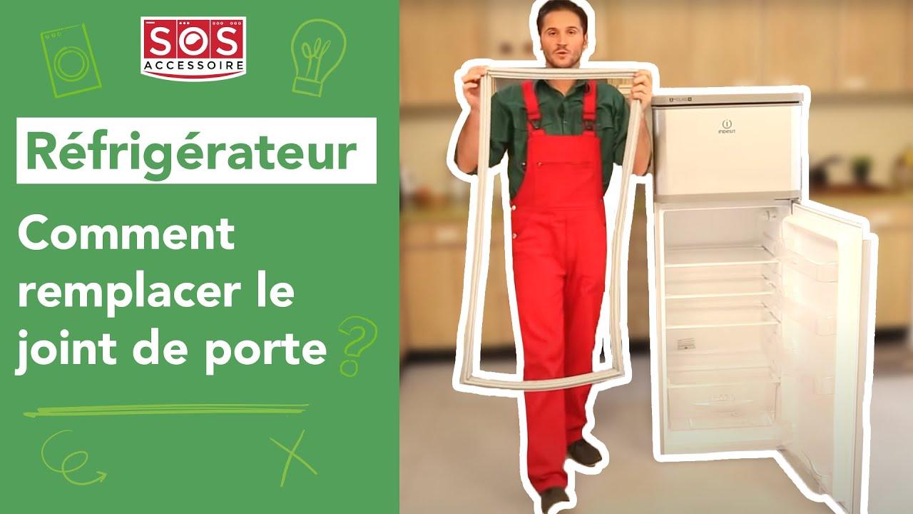 comment remplacer le joint de porte d un refrigerateur