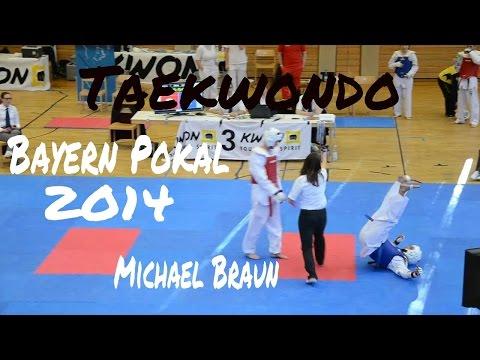 Michael Braun - Taekwondo fight Bayern Pokal