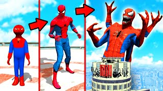 GTA 5 - SPIDERMAN zu SPIDERGOTT upgraden!!