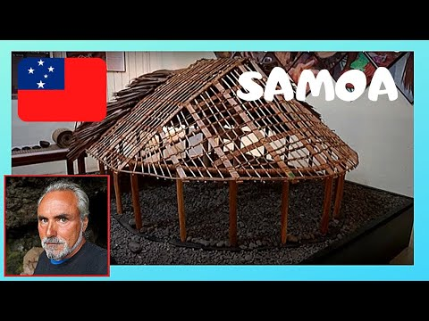 SAMOA, the remarkable MUSEUM of its cultural heritage in APIA (Pacific Ocean)