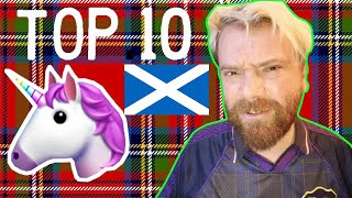 TOP 10 CRAZY FACTS ABOUT SCOTLAND