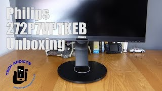 Philips 272P Brilliance 4K UHD LCD Monitor Unboxing