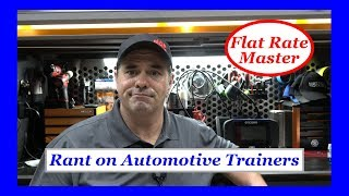 Rant on Automotive Trainers