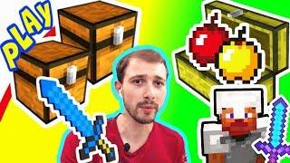ПРоХоДиМеЦ и СТИВ Строят ДОМ и МНОГО СУНДУКОВ! #132 Игра для Детей - Майнкрафт