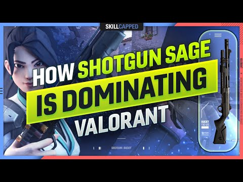 The NEW SHOTGUN SAGE META TAKING OVER VALORANT - Guide, Tips and Tricks