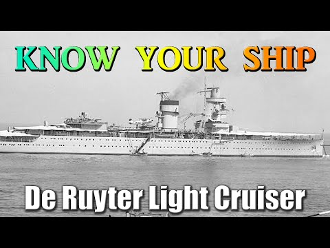 World of Warships - Know Your Ship #40 - De Ruyter Light Cruiser