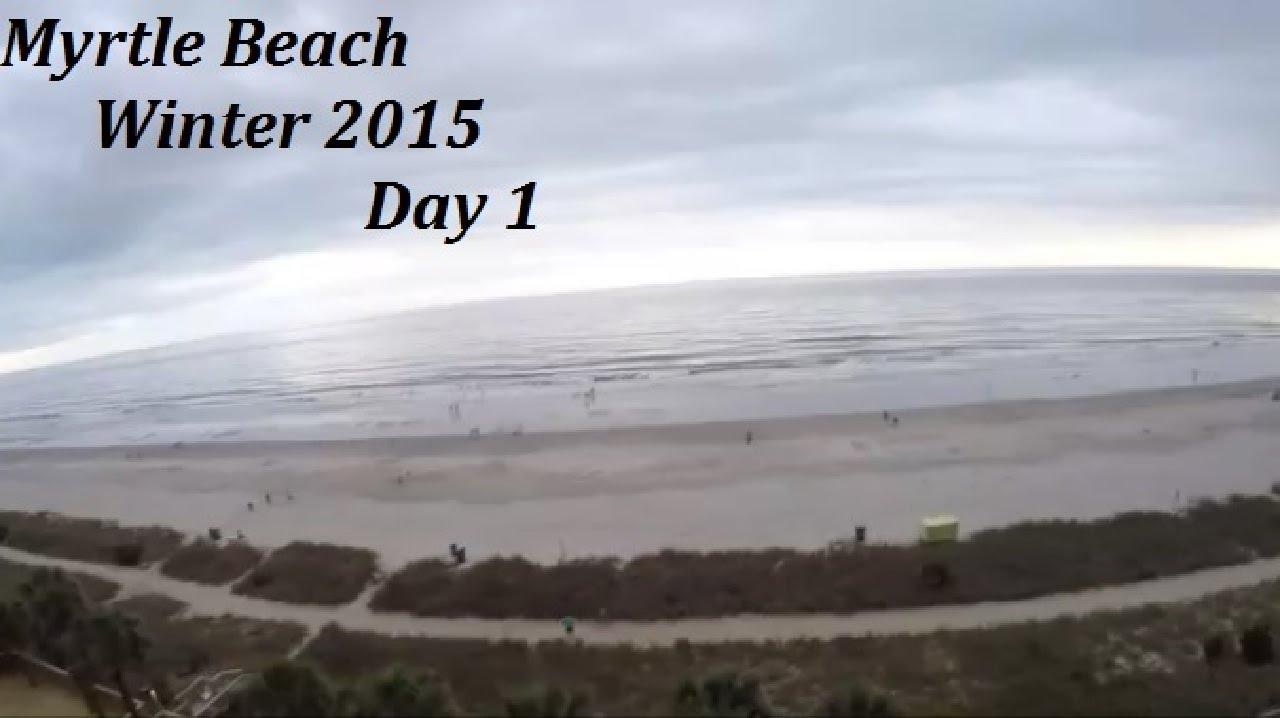 Myrtle Beach Winter Trip 2017 Day 1