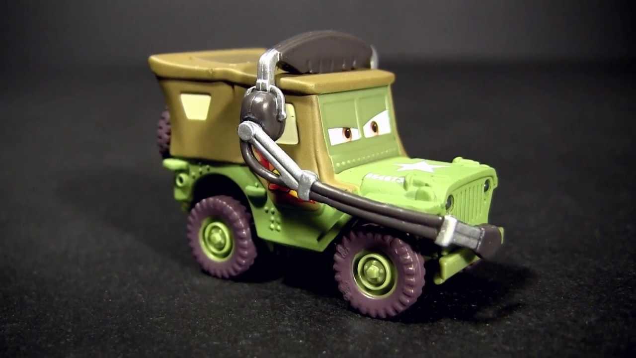 Disney Pixar Cars 2 Race Team Sarge Holiday Edition 2011