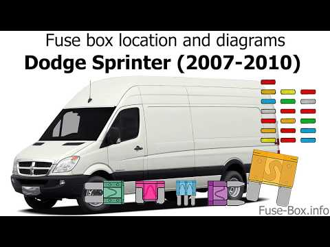 Fuse box location and diagrams: Dodge Sprinter (2007-2010) - YouTubeYouTube