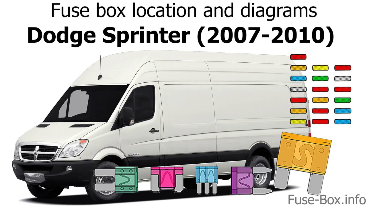 Fuse Box Location And Diagrams  Dodge Sprinter  2007
